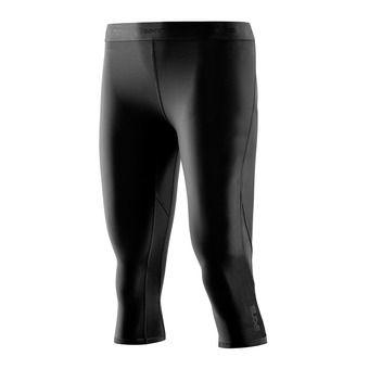 3/4 Leggings - Women's - DNAMIC black/black