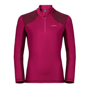 Sweat 1/2 zip femme PAZOLA zinfandel/sangria