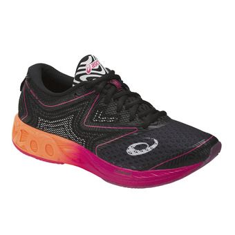 Chaussures triathlon femme NOOSA FF black/hot orange/pink peacock