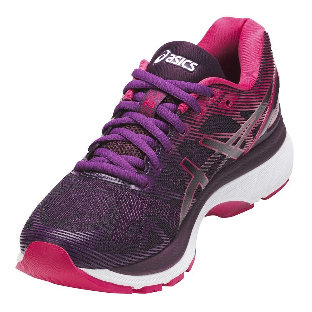Asics Gel-Kayano 24, Chaussures de Gymnastique Femme, Violet (Prune/Pink Glow/White), 38 EU