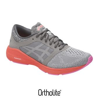 Chaussures running femme ROADHAWK FF carbon/silver/flash coral