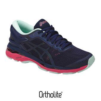 Chaussures running femme GEL-KAYANO 24 LITE-SHOW indigo blue/black/reflective