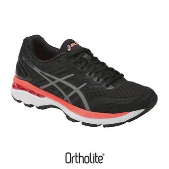 Chaussures running femme GT-2000 5 black/carbon/flash coral