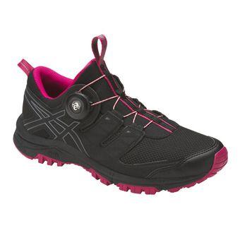 Zapatillas de trail mujer GEL-FUJIRADO black/carbon/cosmo pink