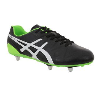Crampons visés MATCH ST black/flash green