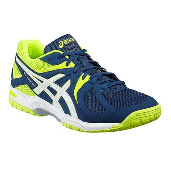 Chaussures squash/badminton homme GEL-HUNTER 3 poseidon/white/safety yellow