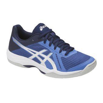 Zapatillas de voleibol mujer GEL-TACTIC regatta blue/silver/indigo blue