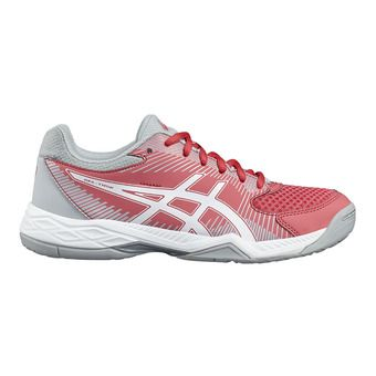 Zapatillas de voleibol mujer GEL-TASK rouge red/white/mid grey