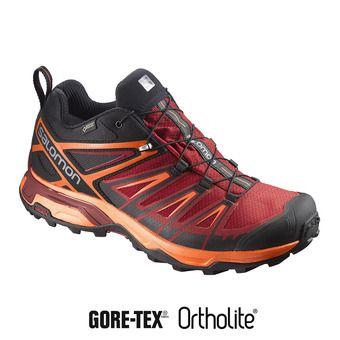 Chaussures randonnée homme X ULTRA 3 GTX® black/red dalhia