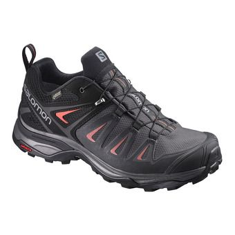 Salomon X ULTRA 3 GTX - Hiking Shoes - Women's - magnet/black/red