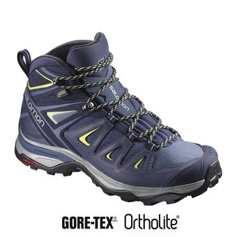 Salomon X ULTRA 3 GTX - Chaussures randonnée Femme crown blue/evening