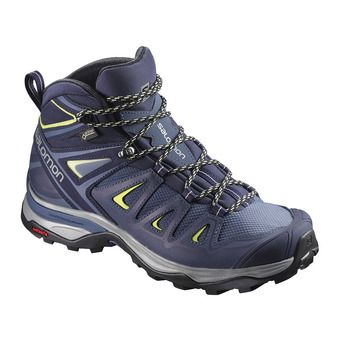 Salomon X ULTRA 3 GTX - Hiking Shoes - Women's - crown blue/evening
