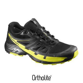 Zapatillas de trail hombre WINGS PRO 2 black/sulphur sp