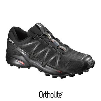 Salomon SPEEDCROSS 4 - Zapatillas de trail hombre black/black metallic