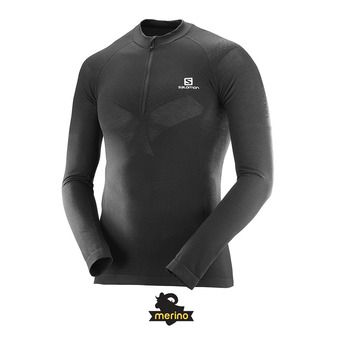 Salomon EXO MOTION - Maillot Homme black
