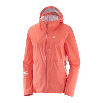 Chaqueta mujer LIGHTNING WP fluo coral
