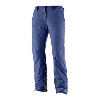Pantalón de esquí mujer ICEMANIA medieval blue