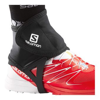 Salomon TRAIL LOW - Gaiters - black