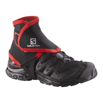 Salomon TRAIL HIGH - Gaiters - black