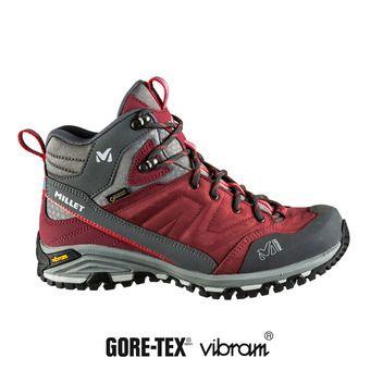Millet HIKE UP MID GTX - Chaussures de randonnée Femme burgundy