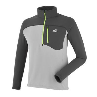 Sweat 1/4 zippé homme TECHNOSTRETCH metal grey/tarmac