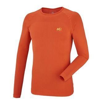 Camiseta térmica hombre TOURING SEAMLESS orange