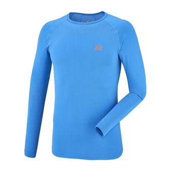 Camiseta térmica hombre TOURING SEAMLESS electric blue
