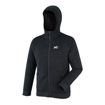 Sweat zippé à capuche homme SIKATI black