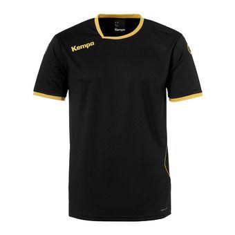 Camiseta hombre CURVE negro/dorado