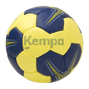 Ballon de handball LEO bleu profond/jaune citron