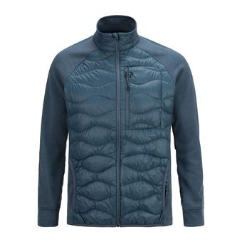 Peak Performance HELI HYBRID - Chaqueta hombre blue steel