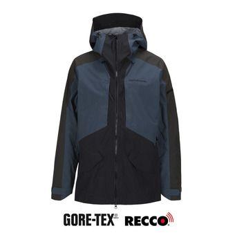 Veste à capuche Gore-Tex® homme TETON black