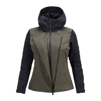 Peak Performance SCOOT - Chaqueta mujer forest night