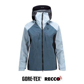 Veste à capuche Gore-Tex® femme TETON dustier blue