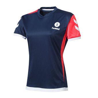 Camiseta mujer CAMPAIGN navy/diva pink/white
