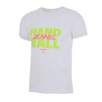Camiseta hombre GRAF white/safety yellow/diva pink