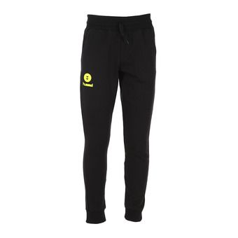 Pantalón de chándal hombre FIT black/safety yellow