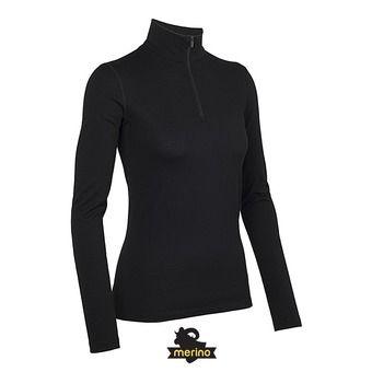 Sous-couche ML 1/2 zip femme OASIS black