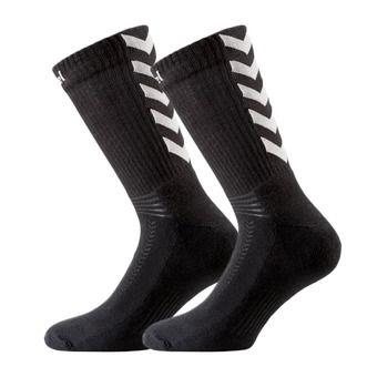 Chaussettes AUTHENTIC noir/blanc