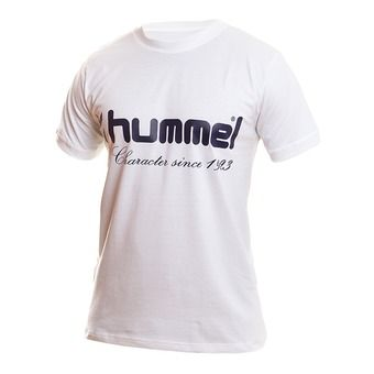 Hummel UH - Tee-shirt Homme blanc/marine