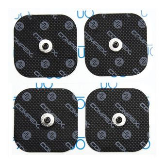 Pack of 4 - Electrodes - PERFORMANCE SNAP 5cm x 5cm
