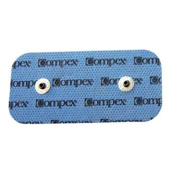 Pack de 2 électrodes avec 2 connecteurs PERFORMANCE SNAP 5x10cm