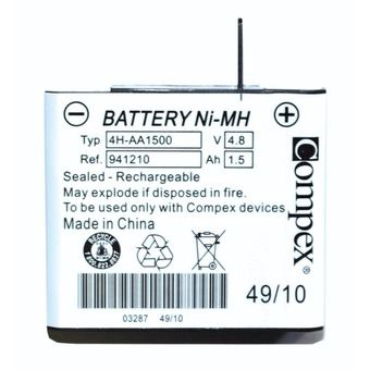 Pack of Batteries - Electro-stimulator Ni-MH 4.8V 1.5Ah