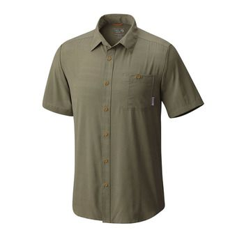 Camisa hombre AIR TECH STRIPE stone green