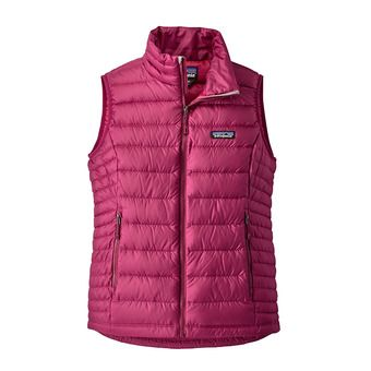 Chaleco mujer DOWN SWEATER magenta