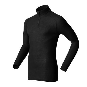Sous-couche ML 1/2 zip homme ACTIVE ORIGINALS WARM black