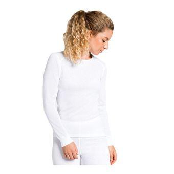 Odlo ACTIVE WARM - Sous-couche Femme white