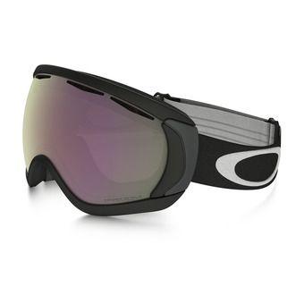 Oakley CANOPY - Gafas de esquí matte black/prizm hi pink