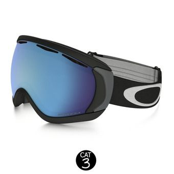 Masque de ski CANOPY matte black/prizm sapphire iridium
