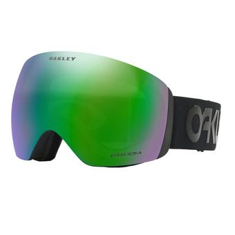 Oakley FLIGHT DECK - Masque ski factory pilot blackout/prizm jade iridium